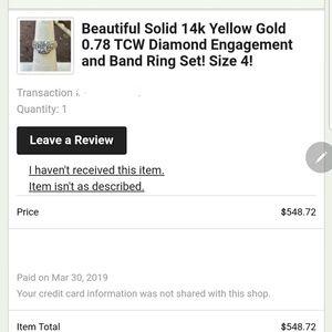 *Make an Offer* Vintage Wedding Set Size 4